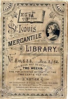 Typography / Library Bookplates #type
