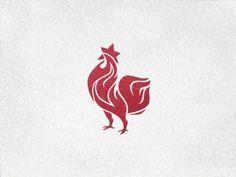 Dribbble - Roostar Logo by Desislava Spilkova #flames #rooster #design #logo #roostar
