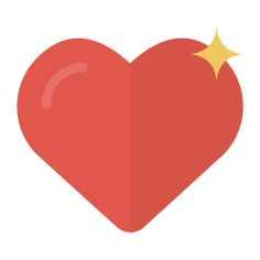 See more icon inspiration related to heart, like, lover, valentines day, peace, love and romance, loving, shapes and interface on Flaticon.