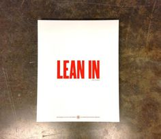 Lean In #red #created #in #facebook #type #lean