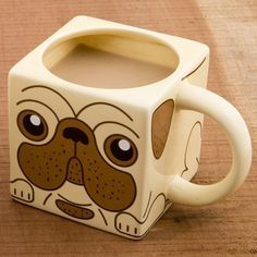 Pug Dog Mug #tech #flow #gadget #gift #ideas #cool