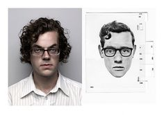 Photofit: Self-Portraits « Studio8 Design #portrait #kit #1970s #photofit