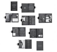 MENS BLACKBOOK on the Behance Network #classey #black #publication #simple #clean #minimal #layout