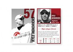 natarcita #baseball #red #white #modern #black #and #numbers #cards #typography