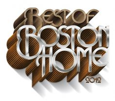 Boston Home Magazine - Luke Lucas – Typographer | Graphic Designer | Art Director #luke #image #as #type #lucas