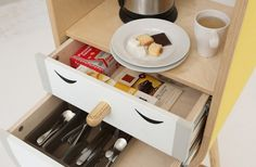 Capsular Microkitchen by LO-LO_2 #kitchen #living #compact