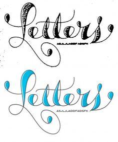 Agency26 - Custom Letters Blog — #lettering #agency26