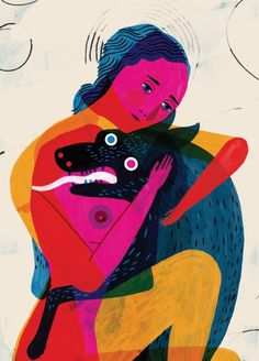 Heres a peek at my piece Demon Dog for the upcoming LGAL Skateboard Show 'Skate or Die', opening Oct. 10th! #lgal