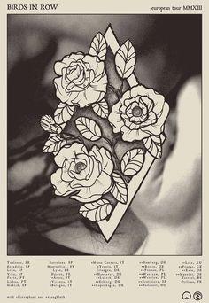 Deathwish #halftone #poster #flowers