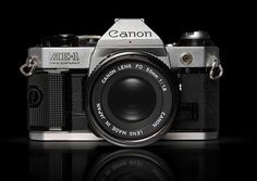 Canon SLR #design #vintage #industrial #retro #photography