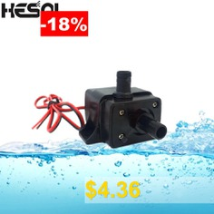 HESAI #12V #Ultra-quiet3.6W #240L #H #Flow #Rate #Waterproof #Brushless #Pump #Mini #Submersible #Water #Pump