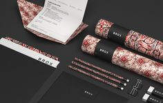 BROX Self Branding on Behance #background #pattern #black