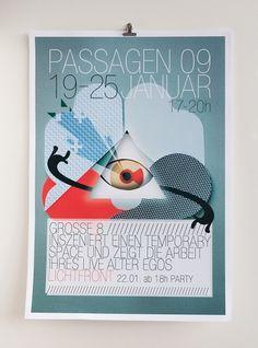 Nicola Rinaldi #design #graphic #cologne #poster #papercraft #typo