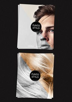 Punto Stylo is a Hair Boutique located in León Guanajuato, Mexico, #visual #design #graphic
