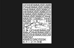 Bureau Mirko Borsche – Buchheim Museum #white #museum #& #black #bureau #buchheim #2014 #poster #borsche #mirko #bn