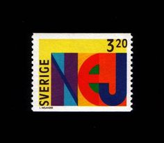 Nej stamp | Flickr - Photo Sharing! #stamp #lars #melander