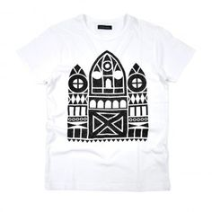 Sixpack France - Cathedrale #shirt #tees #graphic #typography