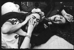 this isn't happiness™ photo caption contains external link #photo #artist #smile #frida