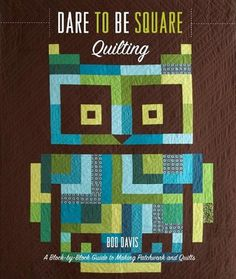 The Strange Attractor #owl #quilting #book #cover #art