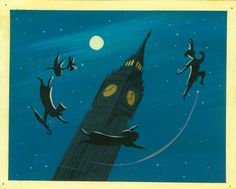 Peter Pan Development Sketches by Mary Blair
