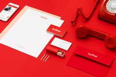Hotline on Behance