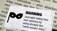 Journalism Warning Labels « Tom Scott #warning