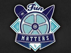 Dribbble - Fun Matters by Mackey Saturday #saturday #mackey #surf #skate #matters #fun