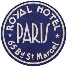 Royal Hotel Paris | European Glamor Travel Art Prints
