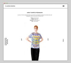 Claudia Danna #danna #layer #website #claudia #layout
