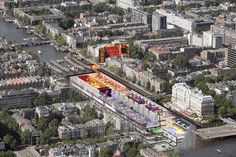 Amsterdam Underground City : Amfora Amstel Dutch Underground Development, Holland – design by Zwarts & Jansma Architects #architecture