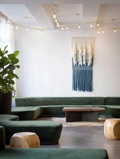 Hi-Lo Hotel Lobby Lounge, Jessica Helgerson Interior Design 6