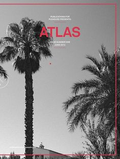 Atlas #cover #magazine #editorial #border