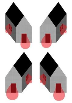 If You Could : Print Series : Apr 2008 #union #illustration #house #krner