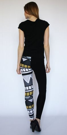 ONE SIDE AZTEK Ubrania DecoBazaar #fashion #aztec #pattern #leggins