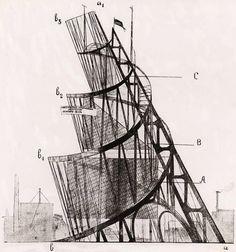 Tatlin_-Vladimir-Evgrafovich-_1885_1953_.JPG (897×960) #vladimir #tatlin #tatlins #tower