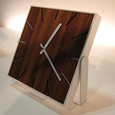 SNAP table/wall clock : lorbus ($200-500) — Svpply #modernism #wood #clock