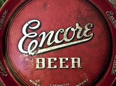 Badge Hunting | Allan Peters #vintage #beer #script #encore