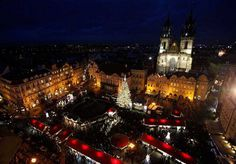 16 Cistmas tree in Prague Czech republic #christmas #trees #art #tree