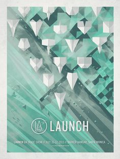 Launch LA poster by DKNG #poster
