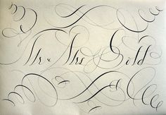 CUSTOM-OTHER — LetterCult #calligraphy #line #elegant