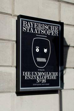 Bureau Mirko borsche Bayerische Staatsoper #poster
