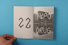 Specimen Graféo on the Behance Network #specimen #rodriguez #book #ivan #rodeo #drug #type #typo #typography