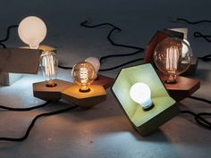 B30°/B35° Lamps by studio ory #lamp #concrete