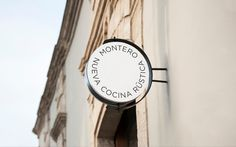 Montero #anagrama #branding #montero #identity #signage