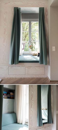 Child's Sleeping Window Nook #interior #design #decor #deco #decoration