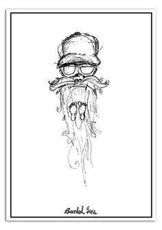 bearded kris.