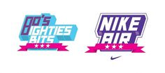 Font / Typeface / Nike on the Behance Network #logotype #banner #sporty #nike #typeface #typography