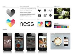FFFFOUND! | Ness | Moving Brands - a global branding company #design #graphic