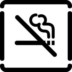 vietato fumare by no zone, via Flickr #iconography #icon #sign #icons #symbols #signs