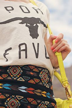 An image on imgfave #fashion #skirt #bull #ethno